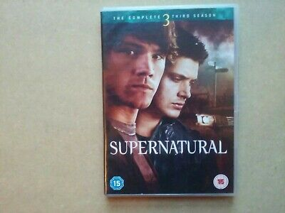 Supernatural - The Complete Third Season  - Drama Series 3 (5 Disc DVD Set)