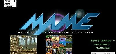 8500+ MAME games Classic collection, ARCADE SYSTEM Coin-op Retro, 32GB