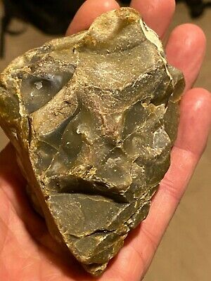 Palaeolithic / Neolithic  ancient man carved in stone