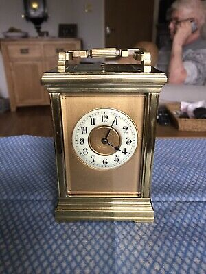 Extremely Rare Masked Dial Repeater Carriage Clock Leroy And Fils