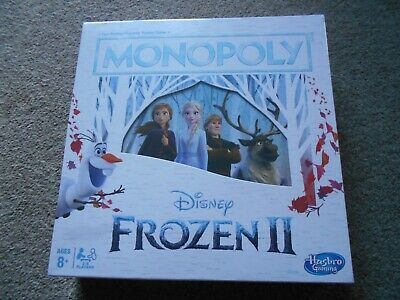 Disney Frozen 2 Movie Edition Monopoly Board Game BN  FREE UK P&P