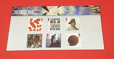 GB 2015 THE GREAT WAR PRESENTATION PACK No.511