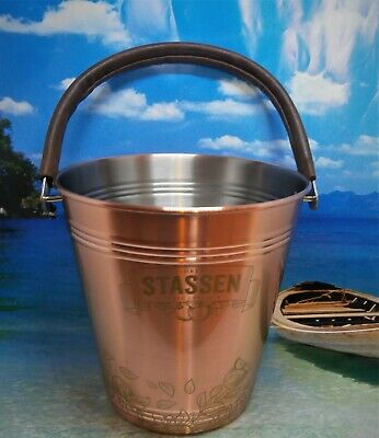 BELGIUM CIDER COPPERPLATED  ICE BUCKET NEW