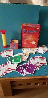 University Games - 5 Second Rule Mini Game Excellent Condition