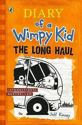 The Long Haul: Book 9 by Jeff Kinney (Hardback)