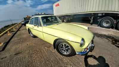 MGB GT (1976) Rare one year only colour - Chartreuse (primrose yellow)