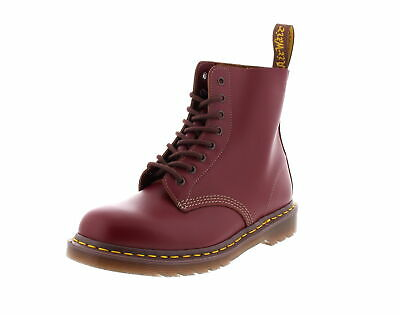 Dr.martens Made in England 8-Loch 1460 Sangue di Bue Quilon