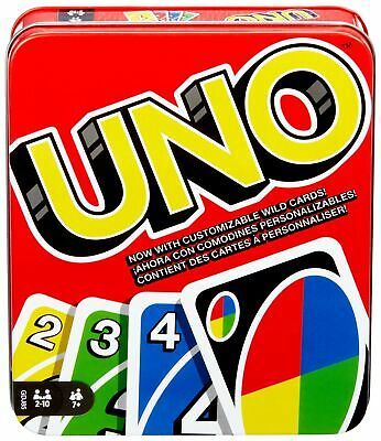 Mattel Games: The Official Uno Tin FREE 1DAY DELIVERY