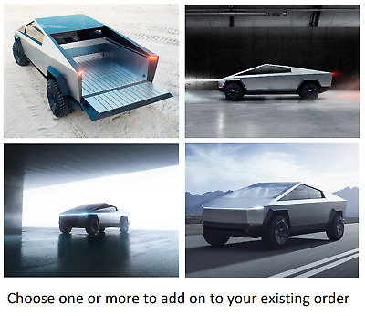 ADD ON ONLY-READ DESCRIPTION! Cybertruck poster, ships with existing order.