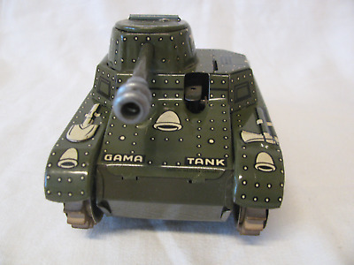 GAMA Panzer / Tank - Made in Western Germany - Blechspielzeug