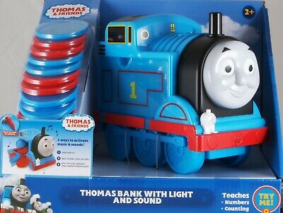 Details about  /Thomas /& Friends Train Bank Light /& Sound Teaches Numbers Counting   Educational