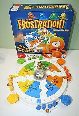 FRUSTRATION Board Game Toy Hasbro Kids Family Fun Slam-O-Matic