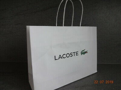 LACOSTE GIFT BAG - MEDIUM - used