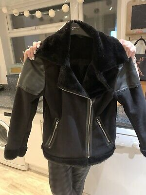 NEXT Girls Fur Lined Winter Jacket 15 Years