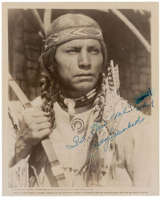 """Jay """"Tonto"""" Silverheels - Autographed Signed Photograph"""