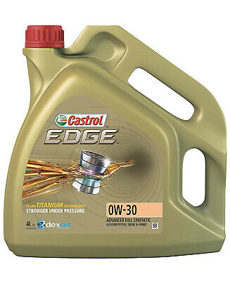 Castrol Edge 0W-30 Fully Synthetic Engine Oil BMW VW Mercedes 4L PICK UP ONLY
