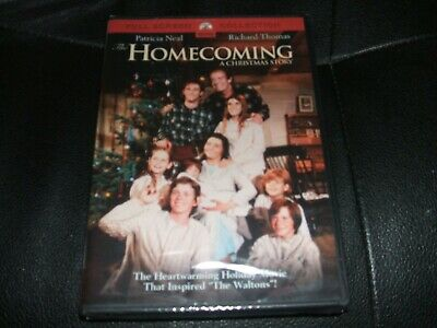 The Homecoming A Christmas Story Holiday Movie DVD the Waltons New Sealed Rare