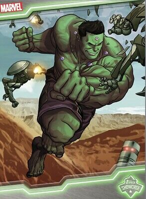 DIGITAL Topps MARVEL Collect Card Trader TOTALLY AWESOME HULK SHOWCASE Insert