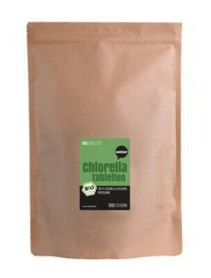 Organic CHLORELLA, 1250 Tablets 500mg Cracked Cell Wall