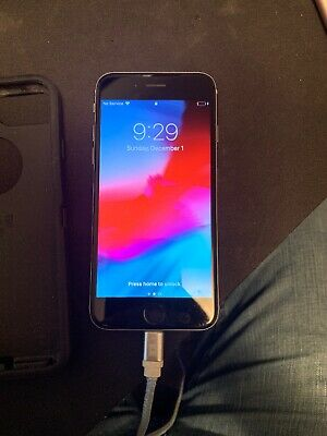 Apple iPhone 6s - 64GB - Space Gray (AT&T) A1633 (CDMA + GSM) WITH OTTERBOX CASE