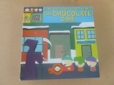 """South Park """"Oh My God! They Killed Kenny"""" The Chocolate Game - """"Rare"""" - Vgc"""