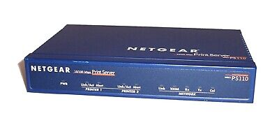 Netgear 2 Parallel Port to Ethernet PS 110