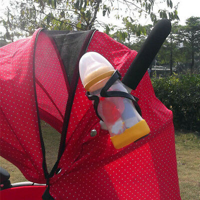 Multifunction Stroller Cup Holder Drink Bag Milk Bottle Pram Golf Buggy Rack LG