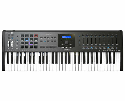 Arturia Keylab 61 MKII Black Keyboard Controller - Open Box