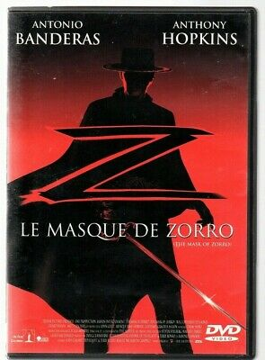 DVD.LE MASQUE DE ZORRO . Antonio BANDERAS / Anthony HOPKINS