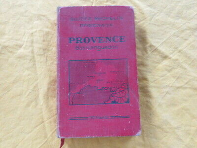 MICHELIN Provence - 1931 - guide rouge