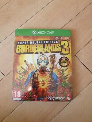 Borderlands 3 - Super Deluxe Edition - BRAND NEW UNOPENED - XBOX ONE
