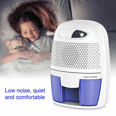500mL Dehumidifier for Mould/Moisture Extraction Damp Home Bedroom -Air Purifier