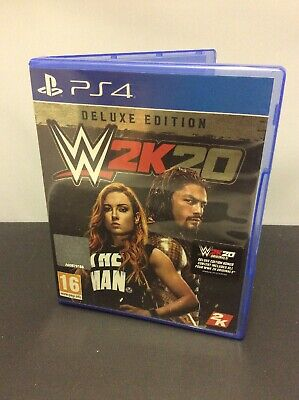 WWE 2K20 Deluxe (PS4) Free P&P