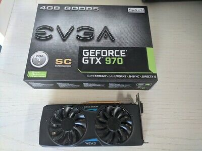 EVGA NVIDIA GeForce GTX 970 SC GAMING ACX 2.0 (4096 MB) (mit Backplate)