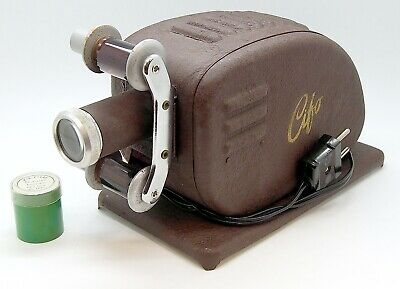 Vintage Cifo Film Projector & Mini Cartoon Film #4907