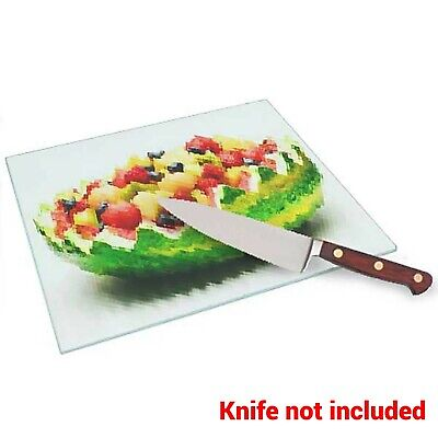 "Sublimation / Printable CHOPPING BOARD Glass 285x390mm (11.2x15.4"") - each"