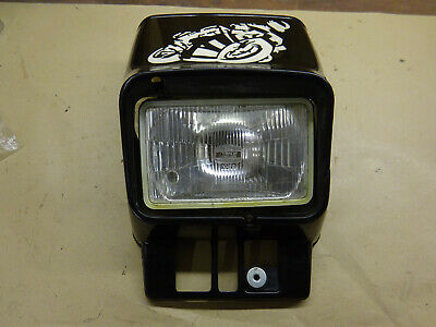1983 Yamaha Dt125 10V Headlight Cowl With Headlight Some Damage