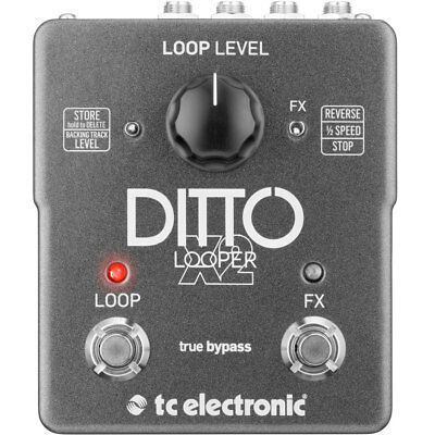 TC Electronic Ditto X2 Looper Looper Pedal, New!