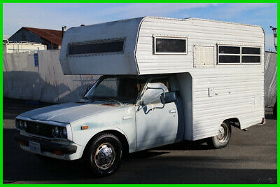 1977 Toyota Dolphin RV Manual 4 Cylinder NO RESERVE