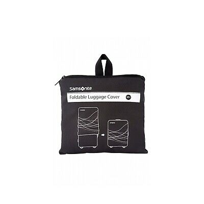 NEW Samsonite Luggage Cover  Foldable Luggage Cover Medium Plus - in Black -