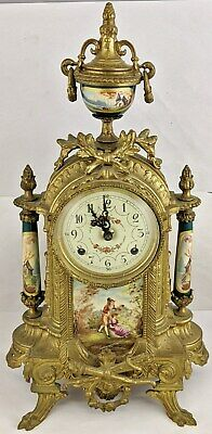 Vintage Italian Imperial Mantel Clock with Franz Hermle Movement