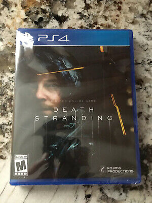 Death Stranding Playstation 4 PS4 KOJIMA Brand New Factory Sealed Not for Resale