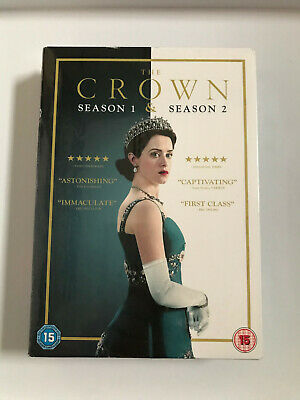 The Crown Seasons 1 + 2 New Authentic Sealed Dvd Region 2