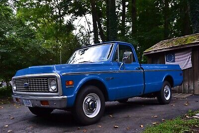 1972 Chevrolet C-10 C20 Highlander 1972 Chevy C20 Pickup Original Paint Highlander 71k Original Miles Documented