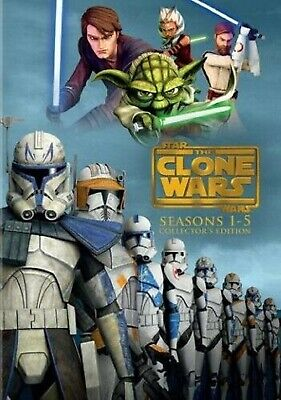 Star Wars - The Clone Wars - The Complete Seasons 1-5 DVD Set