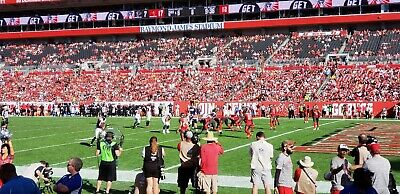 (2)Tampa Bay Buccaneers vs. Indianapolis Colts (Lower level) Tickets 12/8/19
