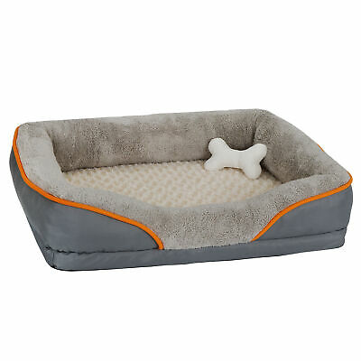31'' Memory Foam Pet Dog Bed Thick Removable Washable Plush Cover Comfortable