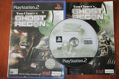 Tom Clancy's Ghost Recon (PS2) [PAL] - WITH WARRANTY - Clancys