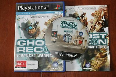 Tom Clancy's Ghost Recon Advanced Warfighter (PS2) [PAL] - Clancys
