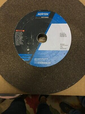 "NORTON 1.500/"" X 1-13//16/"" X 5//8/"" GRINDING WHEEL GWBG410"